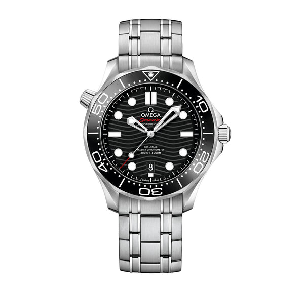 Diver 300m Co-Axial Master Chronometer Steel 42mm Black Dial