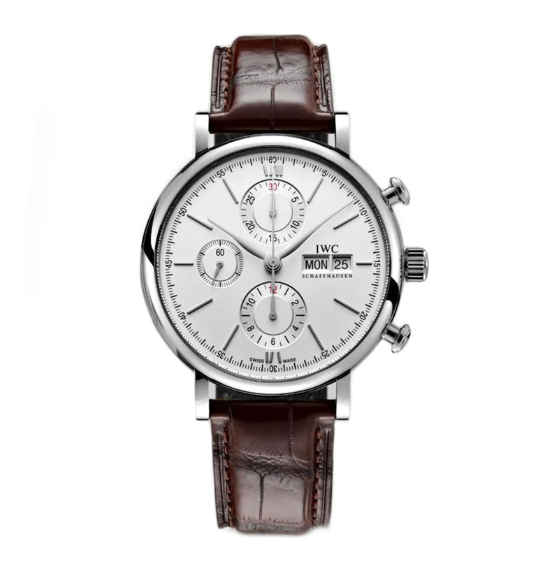 Chronograph Steel 42mm Silver Dial