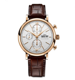 Chronograph 18k Rose Gold 42mm Silver Dial
