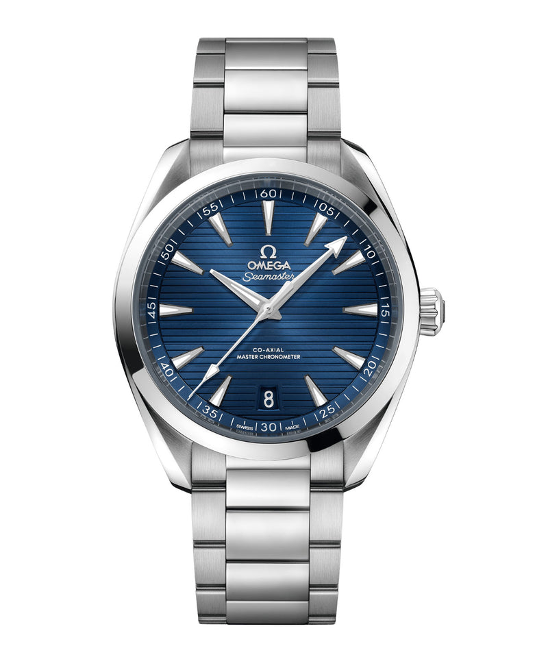 Aqua Terra 150m Co-Axial Master Chronometer Steel 41mm Blue Dial