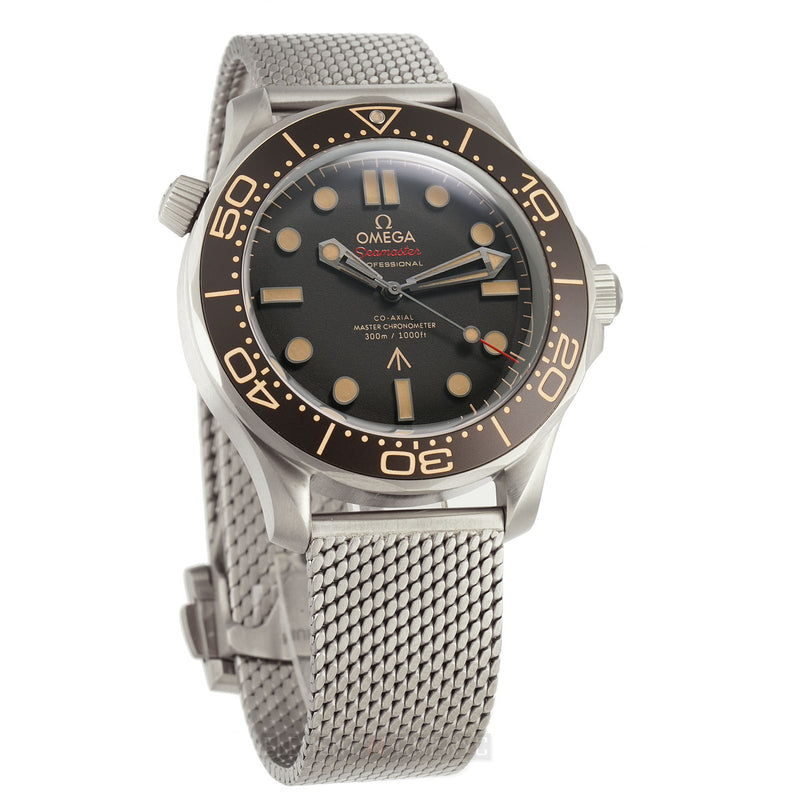 Diver 300m Titanium 42mm James Bond 007 No Time To Die Edition