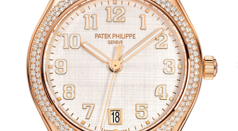 18k Rose Gold Silver Dial Diamond Bezel 36mm Automatic