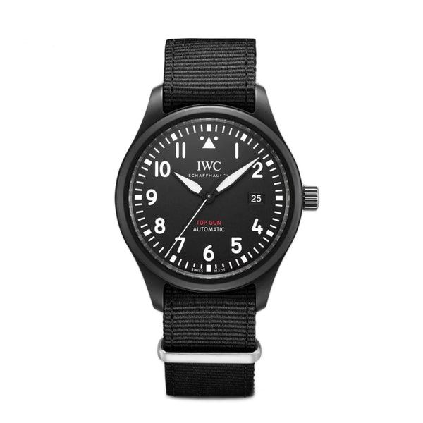 Top Gun Ceramic 41mm Black Dial