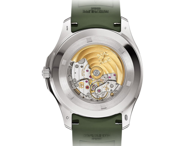 Jumbo 18k White Gold 42mm Khaki Green Dial