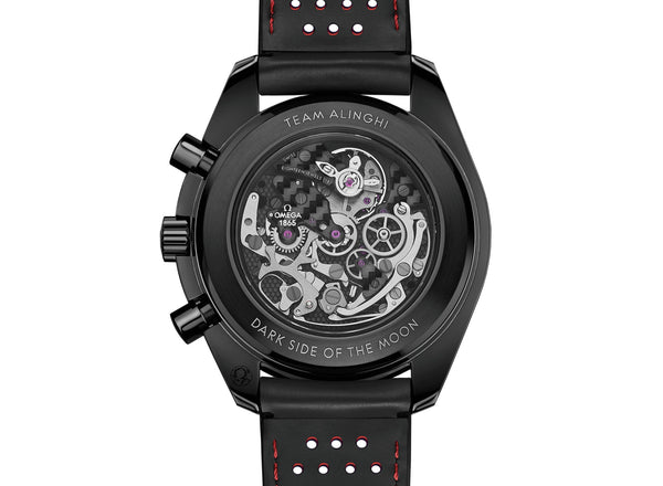 "Dark Side Of The Moon ""Team Alignhi"" Regatta Moonwatch Chronograph 44mm"