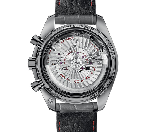 Dark Side Of The Moon Grey Ceramic Moonwatch 44mm Grey Dial