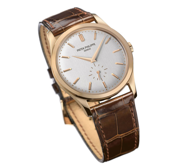 18k Rose Gold 37mm Silver Dial Manual Wind