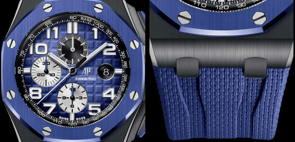 Selfwinding Chronograph 44mm Ceramic Blue