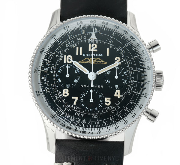 Ref. 806 1959 Re-Edition Chronograph Steel 41mm Black Dial