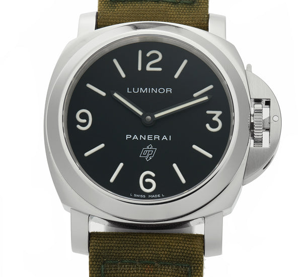 Luminor Base Logo Steel 44mm Black Dial O Series 2012