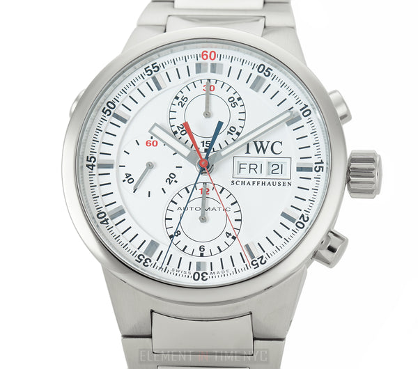 GST Split Second Chronograph Steel White Dial 43mm