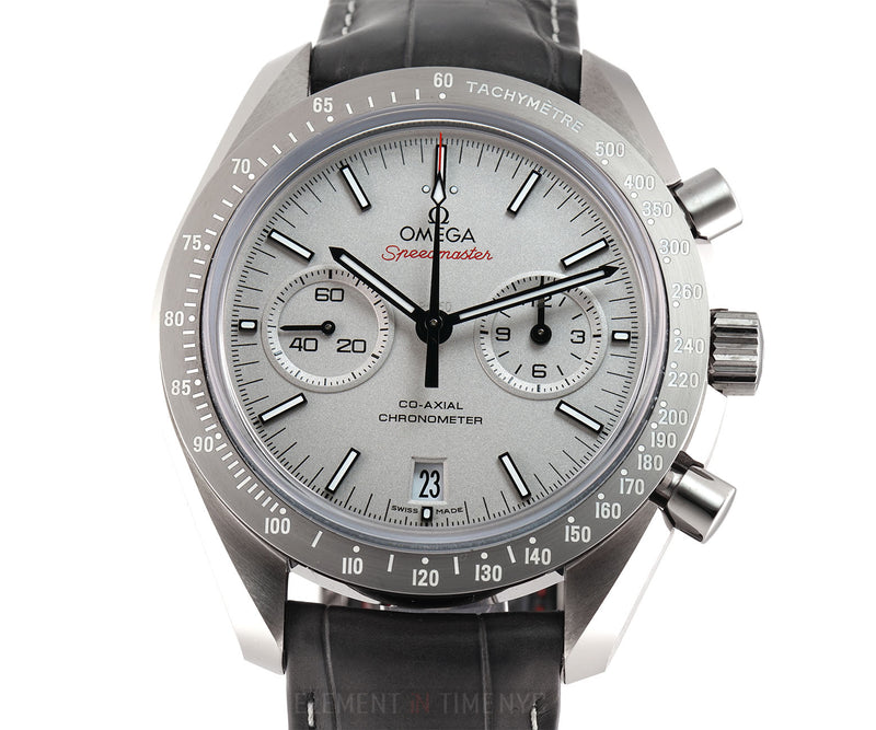 Moonwatch Grey Side Of The Moon Chronograph 44mm Full Set 2016