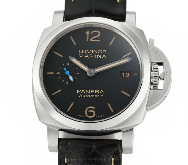 Luminor Marina 42mm Steel Black Sandwich Dial U Series