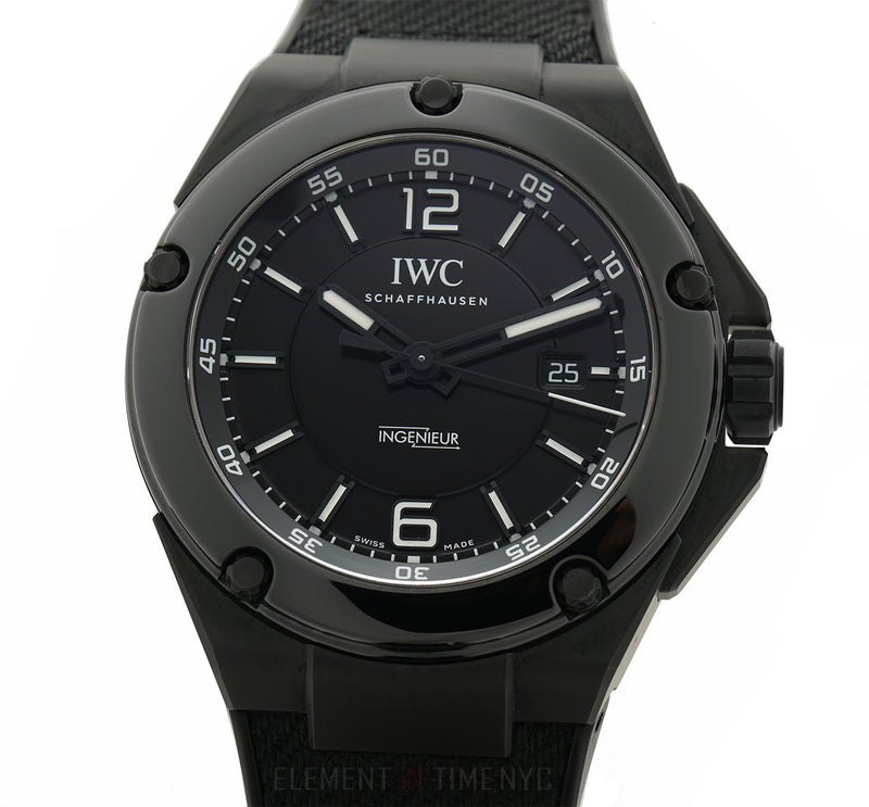 IWC Ingenieur AMG Black Ceramic 46mm Black Dial Automatic IW3225-03 Full Set 2013