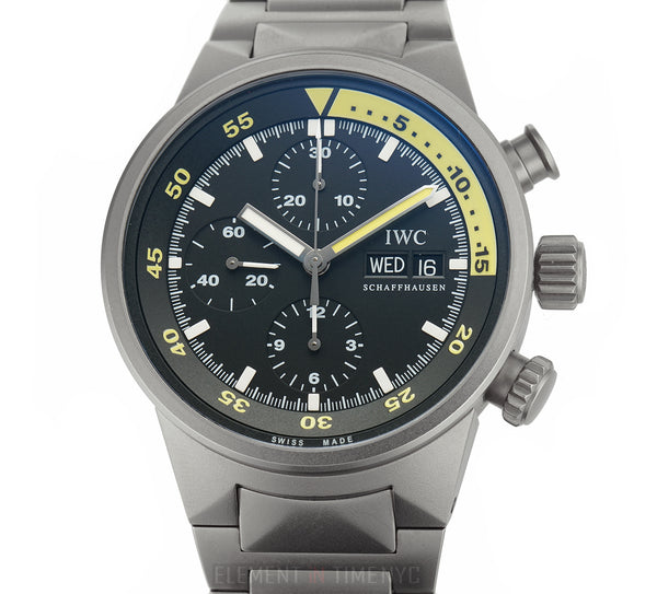 Aquatimer Chronograph Titanium 42mm Black Dial 2006