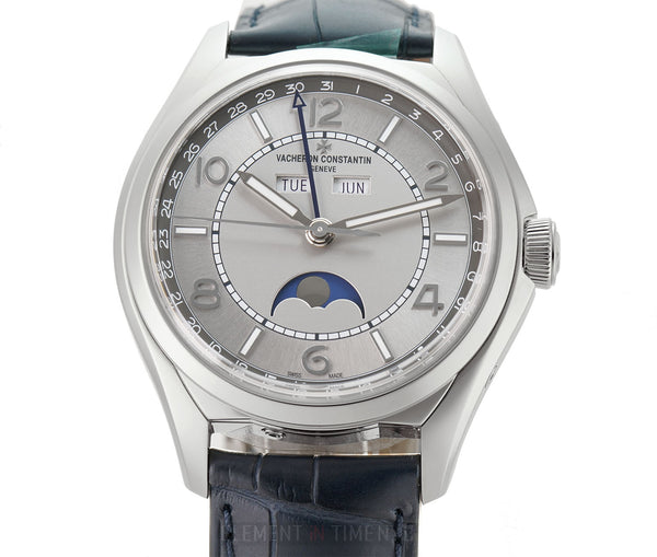 Complete Calendar Steel 40mm Silver Dial