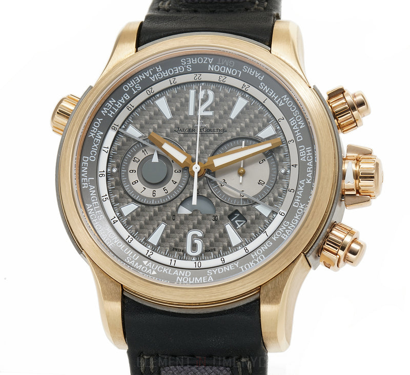 Extreme World Chronograph 18k Rose Gold Texalium Dial 46mm