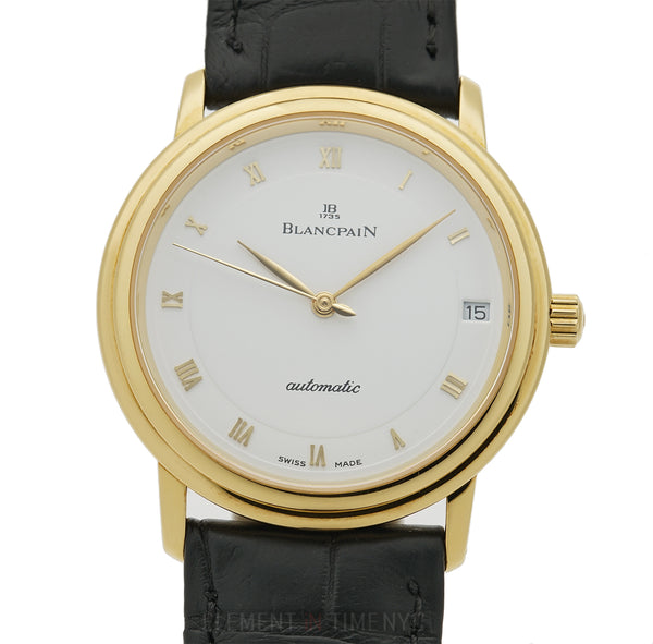 Ultra Slim 18k Yellow Gold 34mm Automatic
