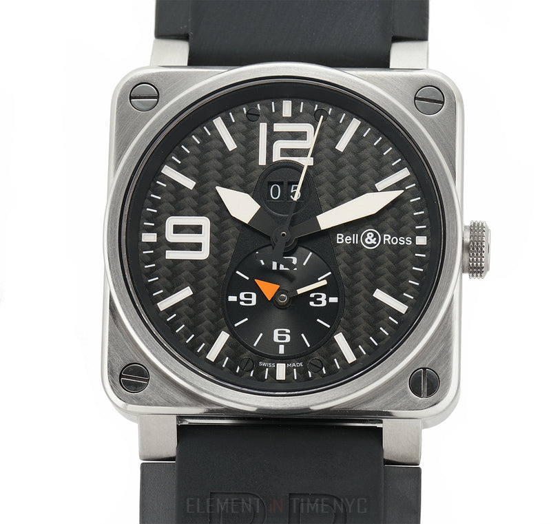 GMT Titanium 42mm Black Carbon Fiber Dial