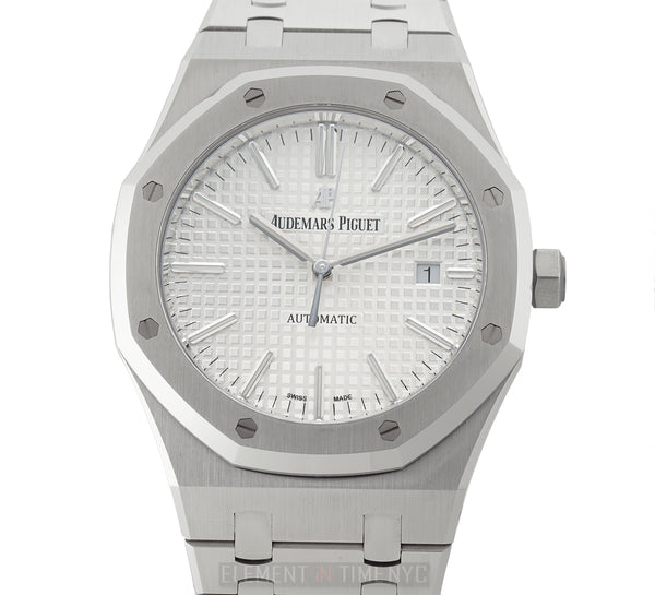 Stainless Steel 41mm White Dial