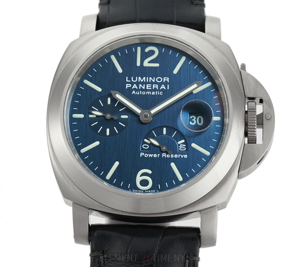 Luminor Power Reserve Titanium 44mm Blue Dial D Series