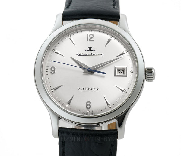 Grande Taille Steel 37mm Silver Dial on Deployment