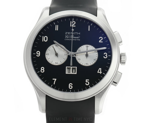 Grande Date Chronograph Stainless Steel