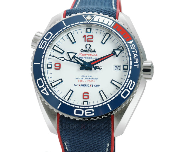 Planet Ocean 600m 36th America's Cup Edition Steel 44mm White Dial