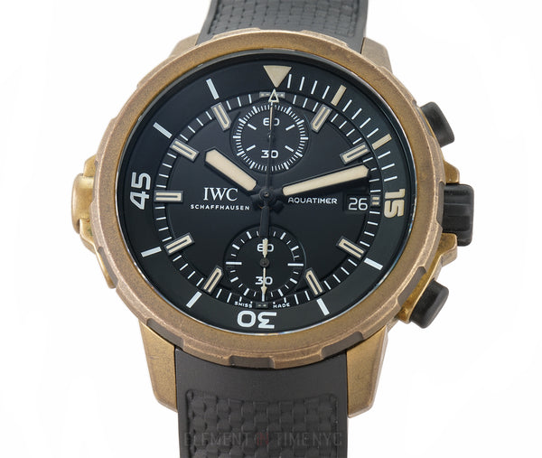 Chronograph Bronze  Expedition Charles Darwin 44mm