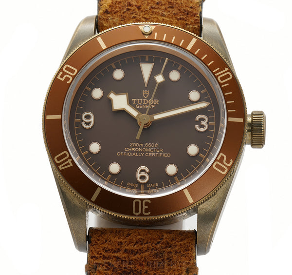 Black Bay Bronze 43mm Brown Dial Brown Bezel 08/2016
