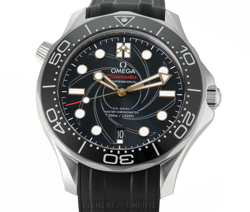 James Bond 007 Edition Diver 300m Co-Axial Master Chronometer 42mm
