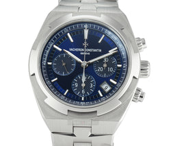 Chronograph Steel 43mm Blue Dial On Bracelet