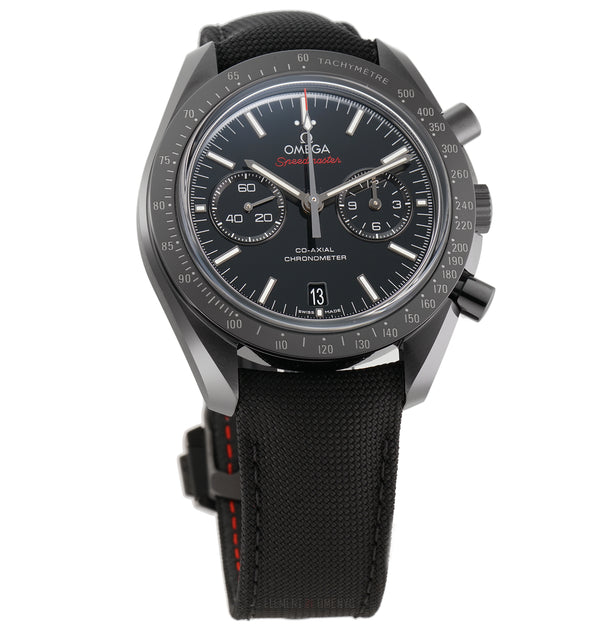 Moonwatch Co-Axial Chronograph Black Dial 44mm On Deployment