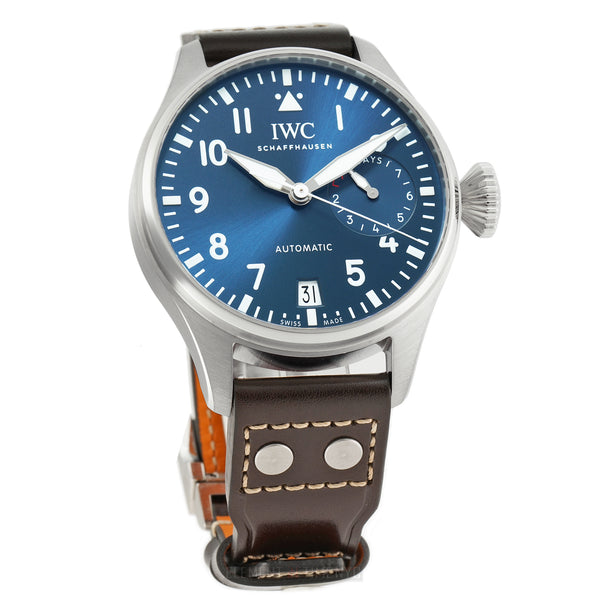 "Big Pilot ""Le Petit Prince"" 7 Day Stainless Steel Blue Dial 46mm"