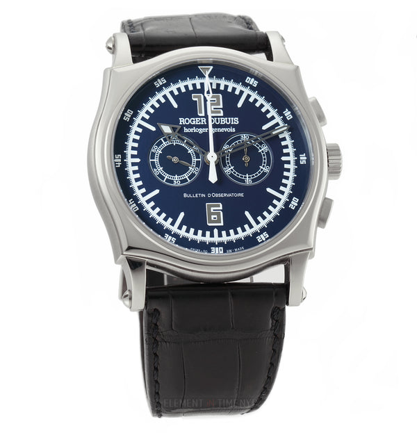 Chronograph XX/28 18k White Gold Midnight Blue Dial 2000