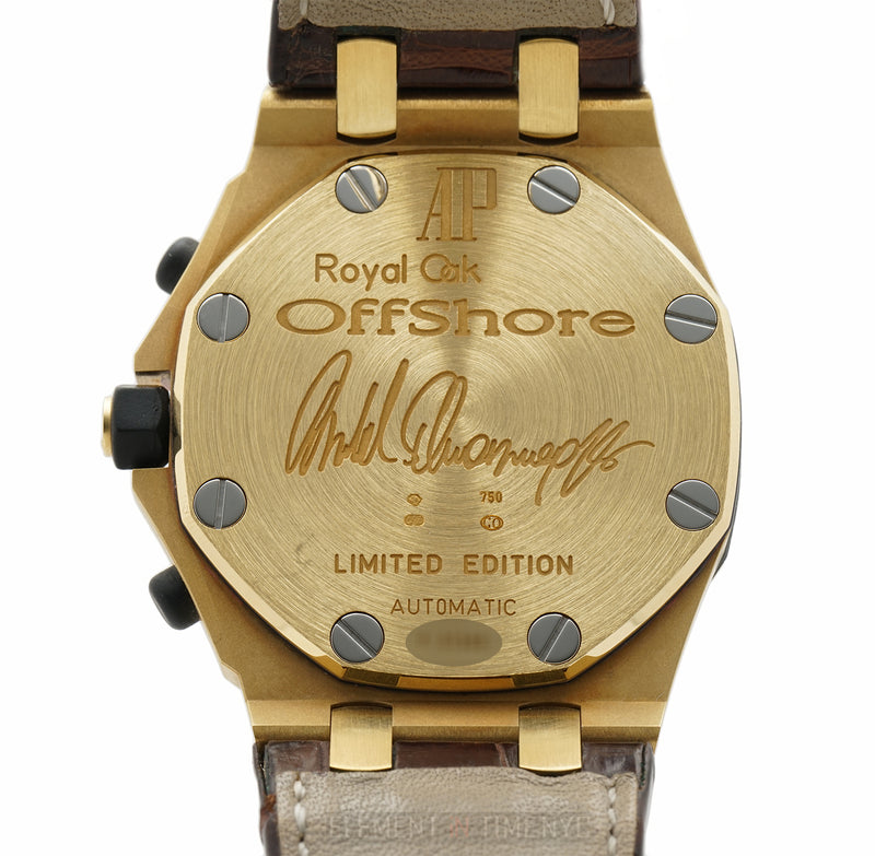 Arnold Schwarzenegger Limited Edition 18k Yellow Gold 2003