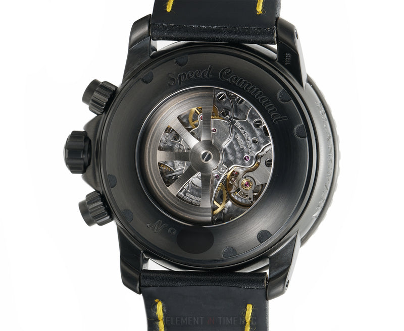 Speed Command Flyback Chronograph DLC Coated Steel 45mm