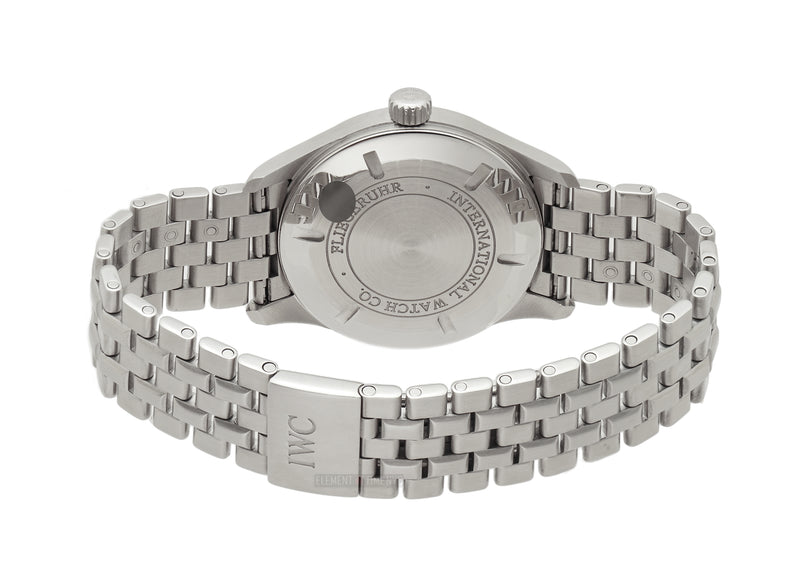 Mark XVI Spitfire 39mm Steel Silver Dial On Bracelet