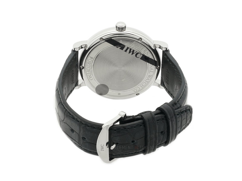 Date Stainless Steel 40mm Black Dial