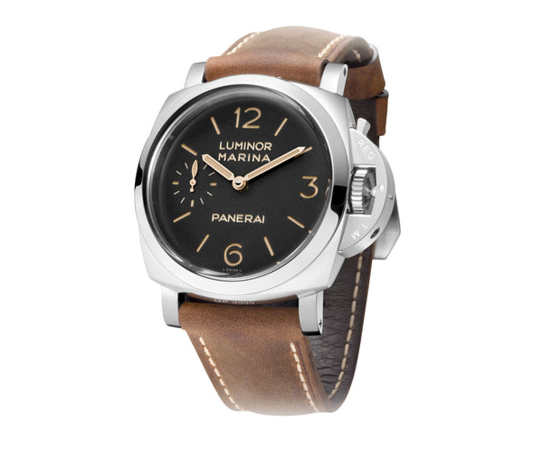 Luminor Marina 1950 47mm 3 Days Steel Black Dial