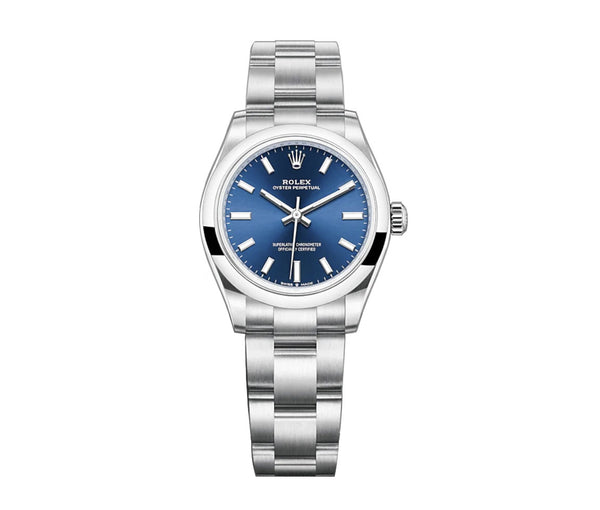 No-Date 31mm Bright Blue Dial Oyster Bracelet