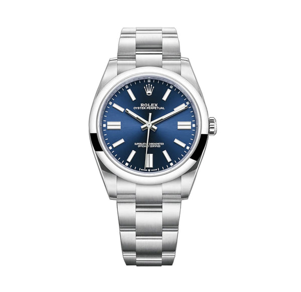No-Date 41mm Bright Blue Index Dial