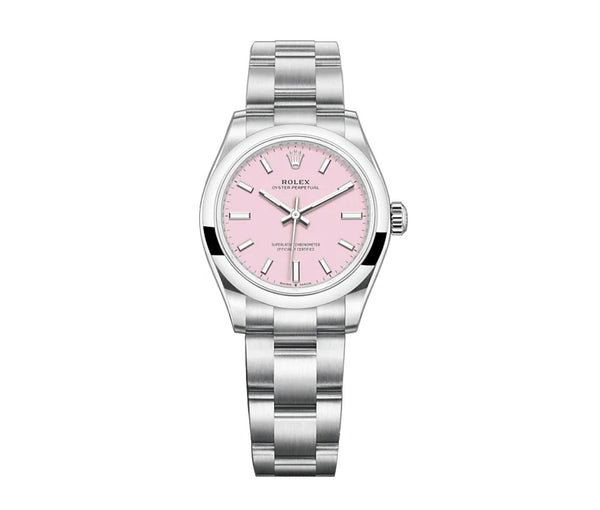No-Date 31mm Candy Pink Dial Oyster Bracelet