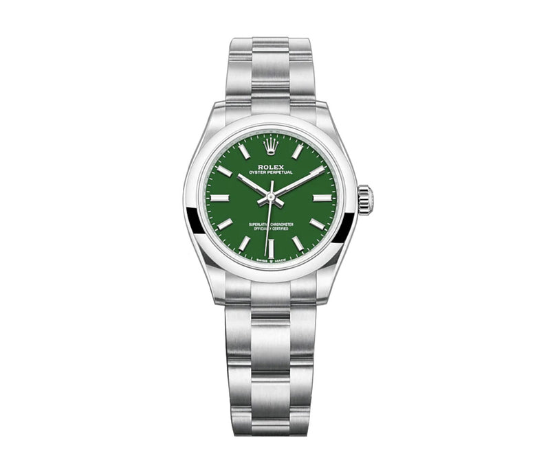 No-Date 41mm Green Dial
