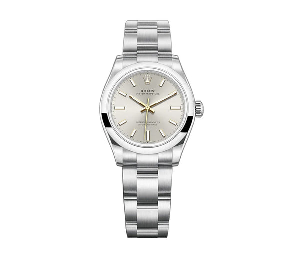 No-Date 31mm Silver Dial Oyster Bracelet