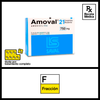 Amoval 750mg x 1 comprimido