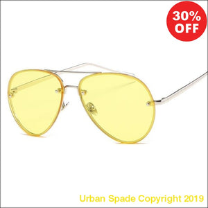 "2019 ""Proud Demon"" Stylish Aviator Women's High Quality Sunglasses (+More Colors) - Urban Spade Exclusive Shop"