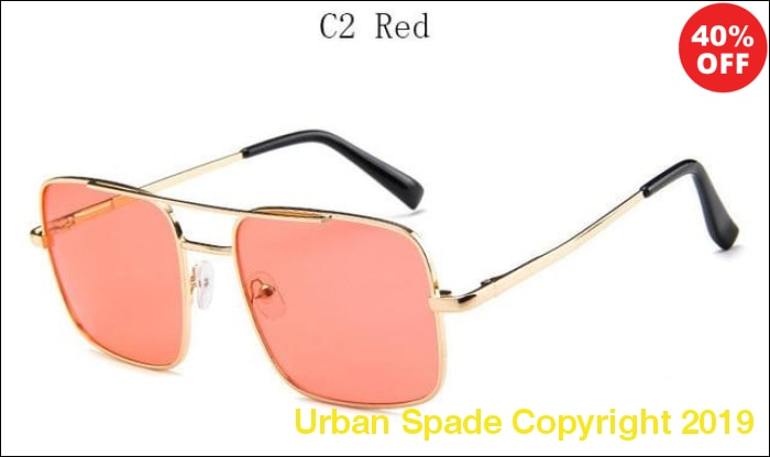 2019 Retro Classic Vintage Women's Sunglasses (+More Colors) - Urban Spade Exclusive Shop