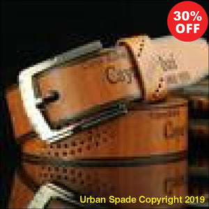 2019 Stylish Men's Casual Fashion Retro Antique Hollow Belt (+More Colors) - Urban Spade Exclusive Shop