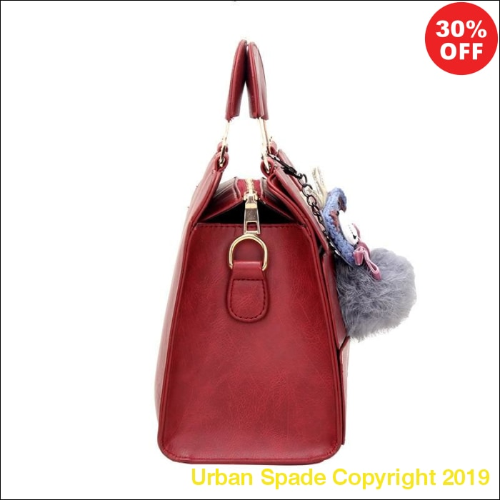 Mei&ge Famous Luxury Brand Women's Leather Messenger Pouchettes (+More Colors) - Urban Spade Exclusive Shop